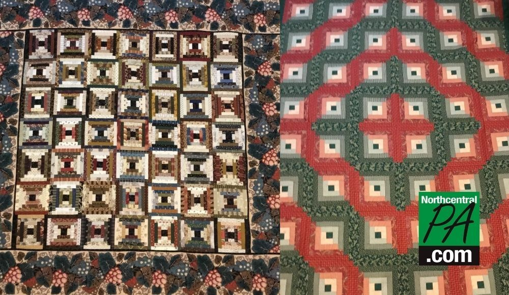 muncy quilt with logo