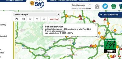 April 2 crash montoursville