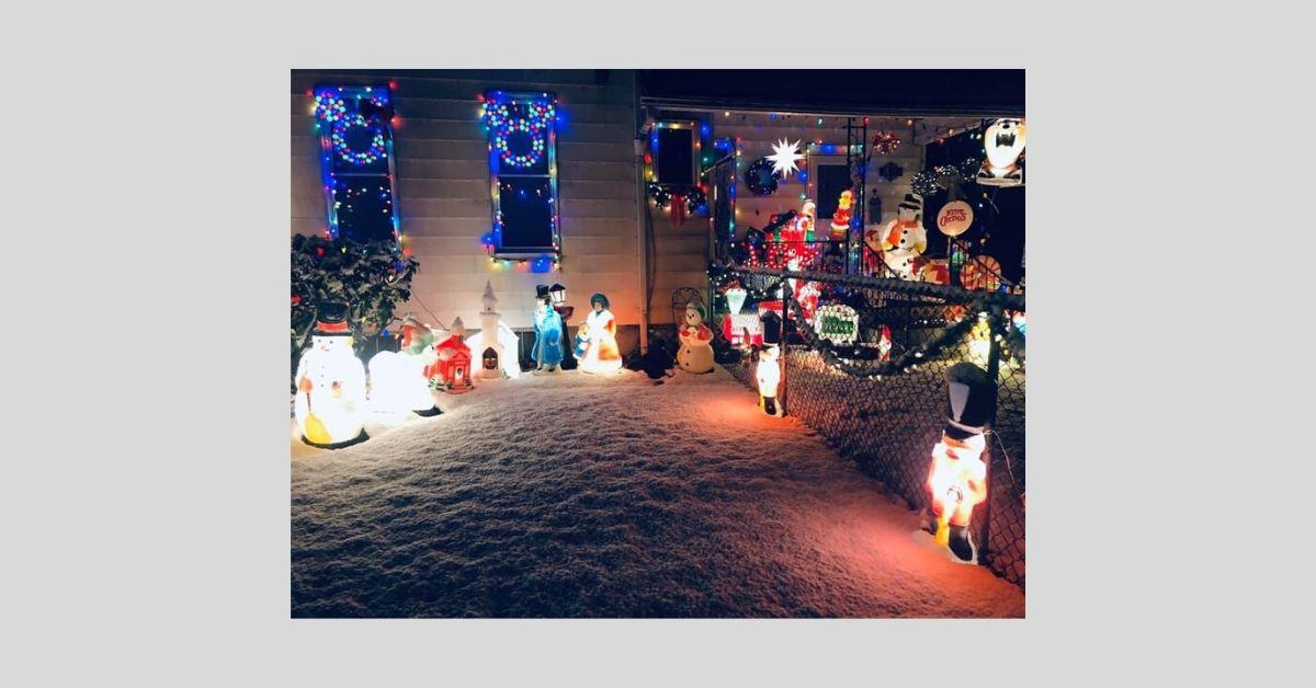 Christmas Corner side yard _ 2019