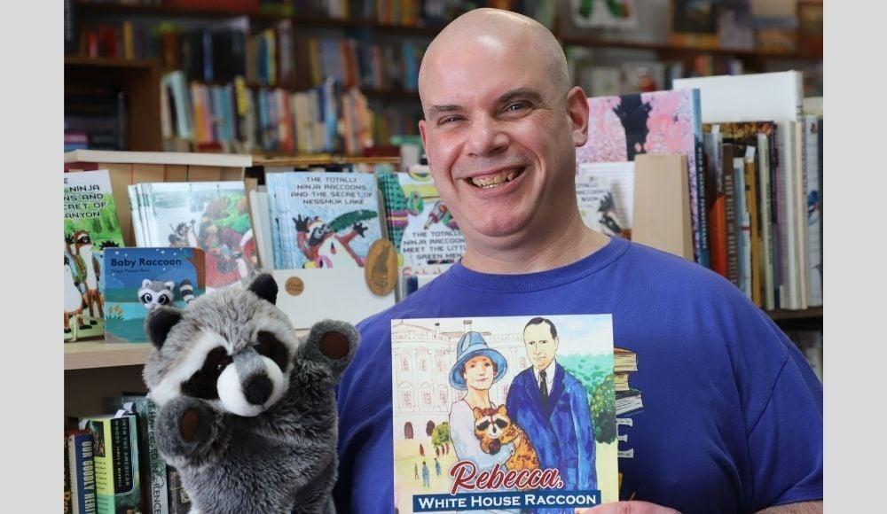 kevin coolidge rebecca raccoon book release