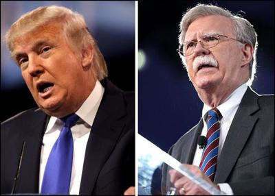 Trump Says He Fired Bolton For Making 'big Mistakes'