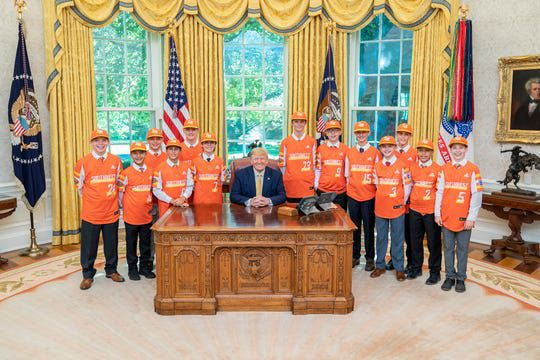 white house LLWS photo
