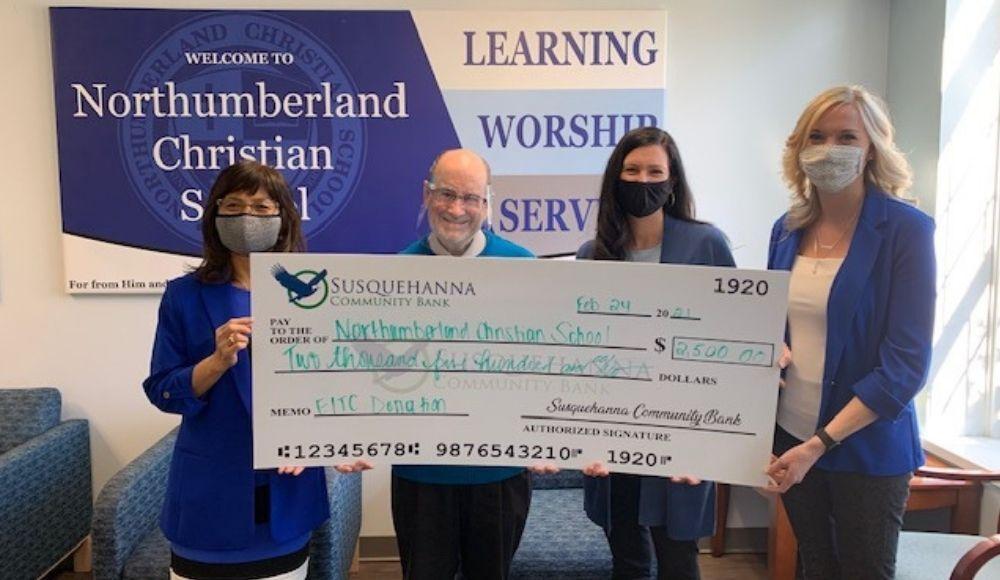 susque community bank northumberland christian school