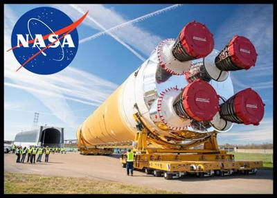 Boeing Rolls Out Core Stage Of NASA's First Space Launch System