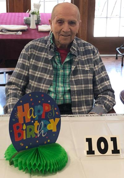 Carl Phillps - WWII veteran celebrates 101st birthday at RiverWoods