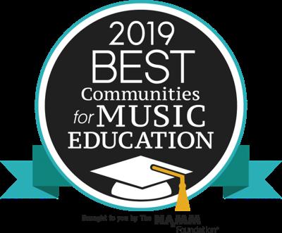 2019 best communities for music education logo