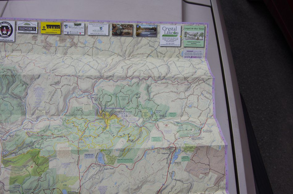 New Loyalsock State Forest Map Available From Pennsylvania Cartography Company Outdoors Northcentralpa Com