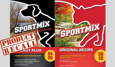 sportmix pet food recall 2021