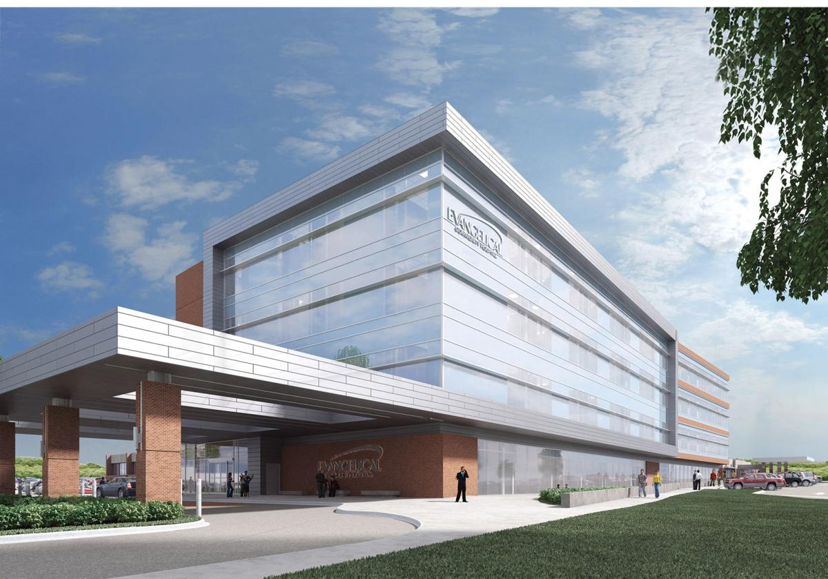 Evangelical Community Hospital rendering of PRIME