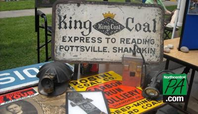 anthracite festival historical items