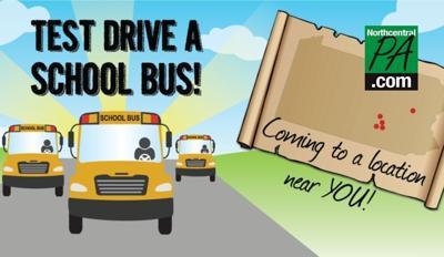 school bus test drive