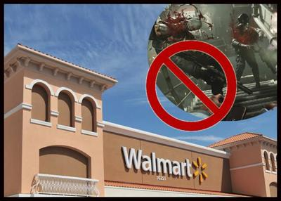 Walmart Removing Ads Referencing Violence?