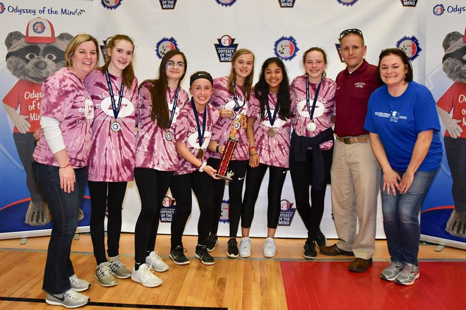 Loyalsock Township OM Middle School team advances to world finals 2019