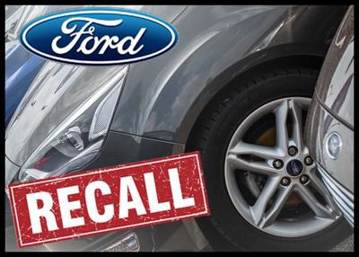 Ford Recalls About 108,000 Vehicles Over Seat Belt Issues