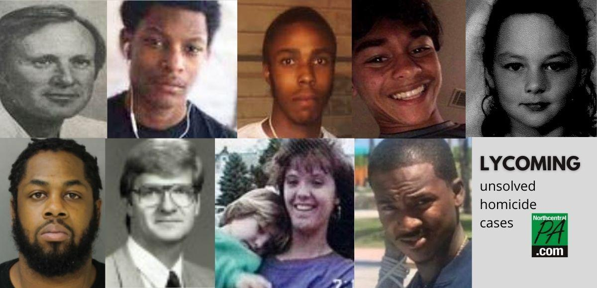 Lycoming County Unsolved Homicide Cases_2021