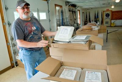 Operation BBQ Relief helped local families receive complete meals in difficult times PHOTO
