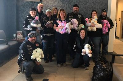 Big Twins Motorcycle Club donates to children at UPMC Susquehanna