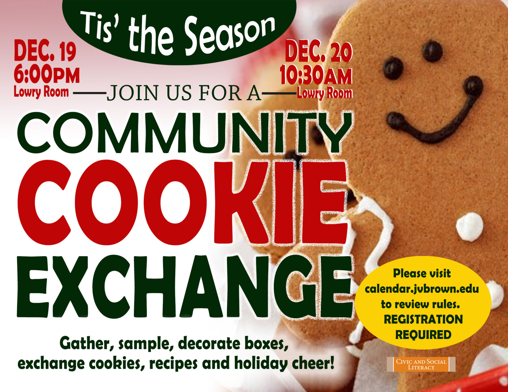 Library To Hold Community Cookie Exchange Life Northcentralpa Com