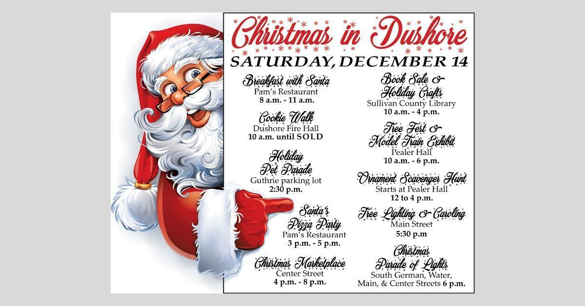 Christmas Is Dushore Pa 2021 This Saturday All Day Fun At Christmas In Dushore Community Northcentralpa Com