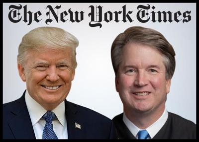 Trump Takes Umbrage At New York Times Report On Brett Kavanaugh