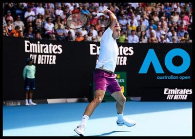 Great Escape To Semifinal For Federer In Marathon Five-Setter