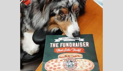 west end library pizza fundraiser