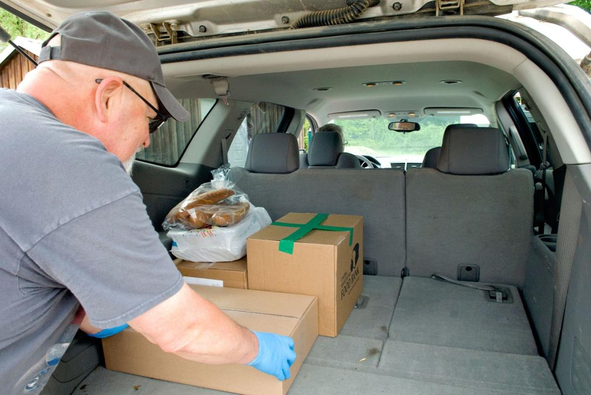 Operation BBQ Relief helped local families receive complete meals in difficult times PHOTO 2