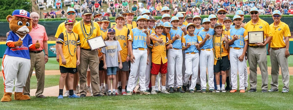 Hawaii and Georgia Presented With Jack Losch Little League