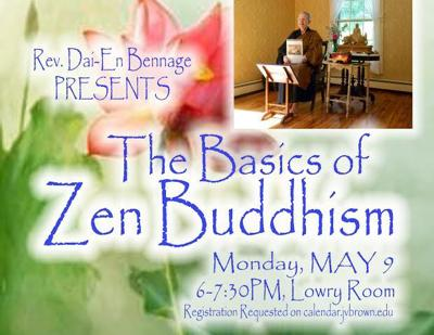 Library continues religion series with 'Ask a Buddhist' on May 9