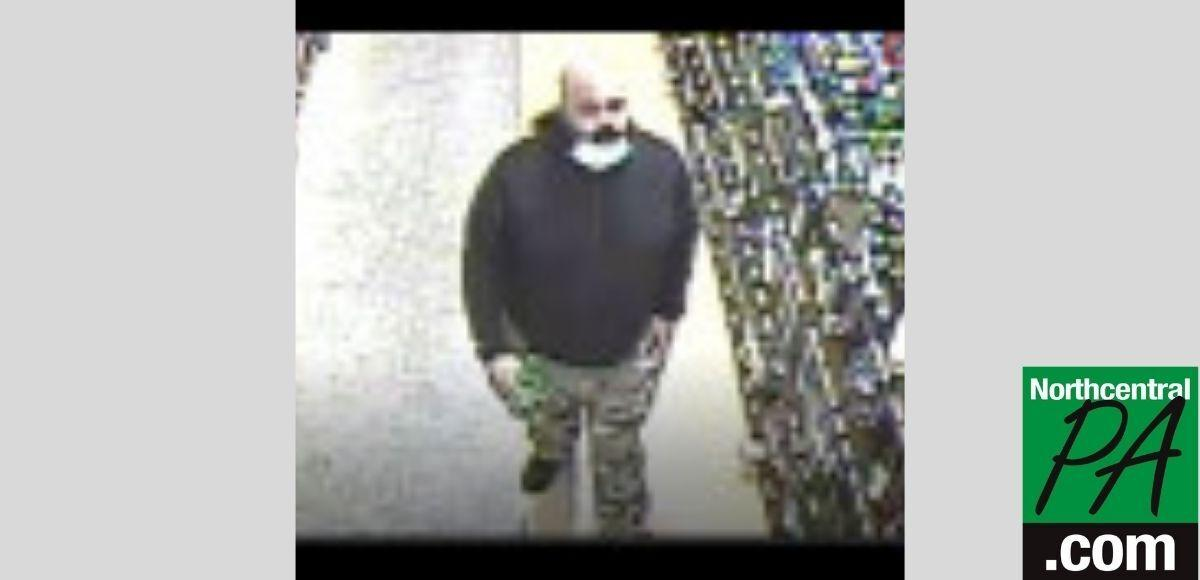Fine Wine & Good Spirits theft suspect _ 2021