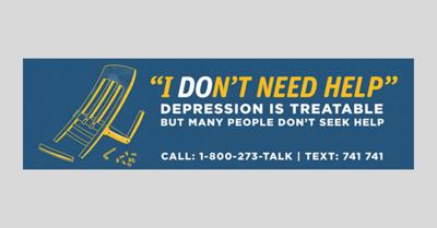 Penn College Suicide Awareness Campaign design _ 2019