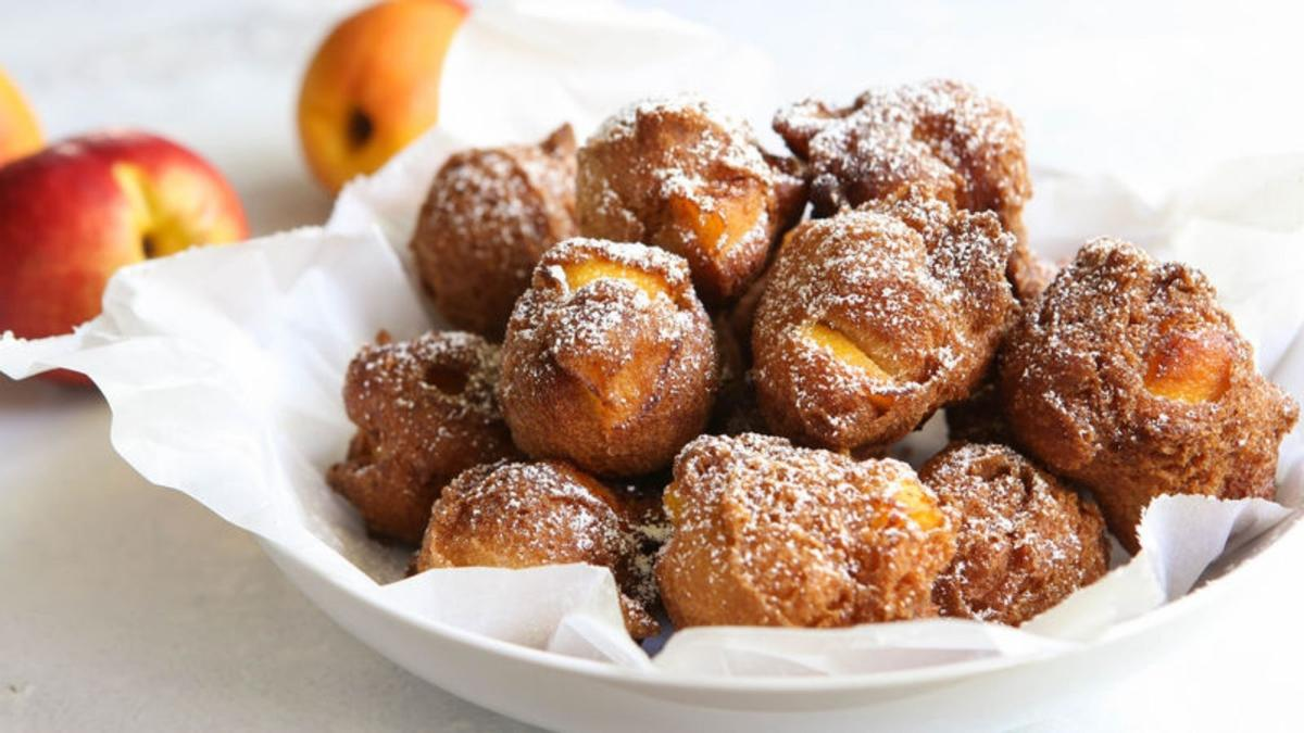 Peach Fritters PHOTO