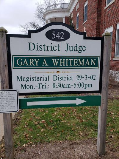 District Magistrate Gary Whiteman stock photo