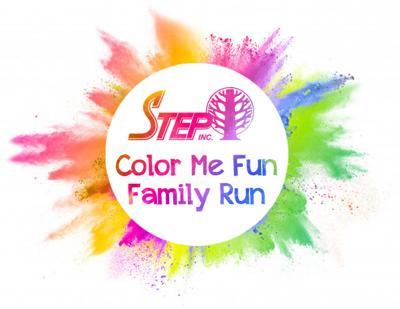 logo STEP Color Me Fun Family Run 5K