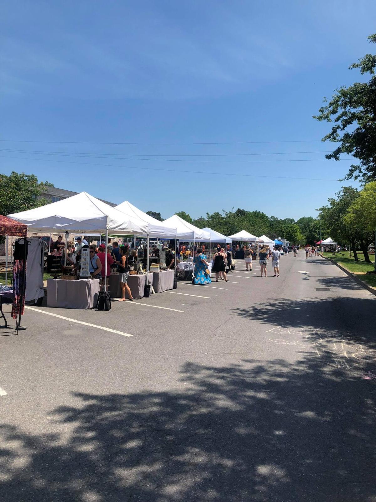 Summer Craft Fair in Downtown Lewisburg