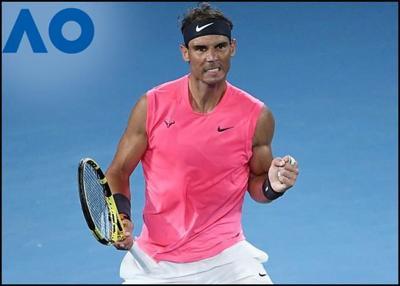 Rafael Nadal Battles Past Kyrgios To Reach Australian Open Quarter-finals