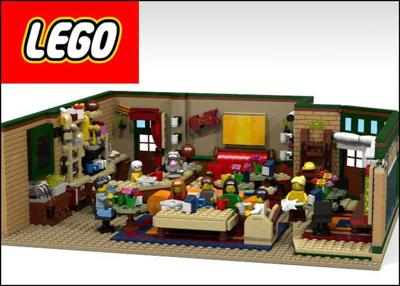Build 'Friends' Coffee Shop With Lego