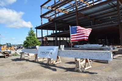 Evangelical Community Hospital PRIME topping out ceremony