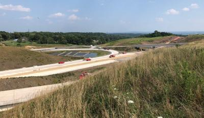 CSVT interchange with Route 15 from Sept. 2021