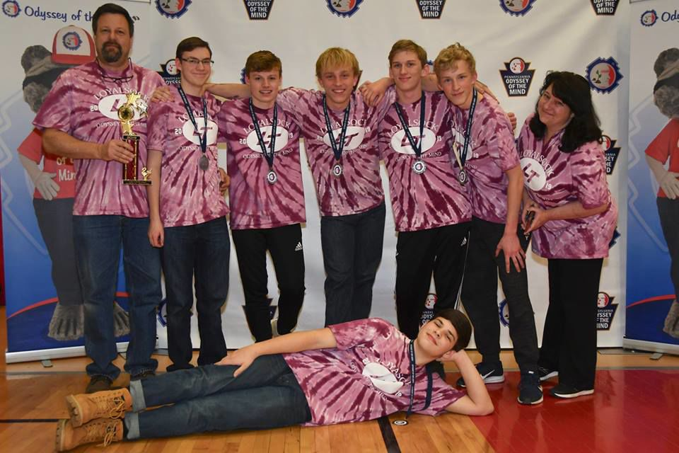 Loyalsock Township HS Odyssey of the Mind team advances to world finals 2019