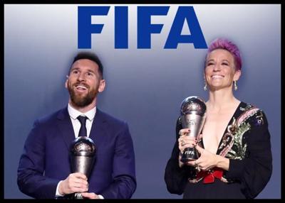 US World Cup Icon Megan Rapinoe, Messi Win FIFA Player Of The Year Award
