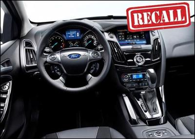 Ford Recalls 58,000 Select Focus Vehicles