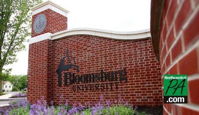 bloomsburg university wall new with logo