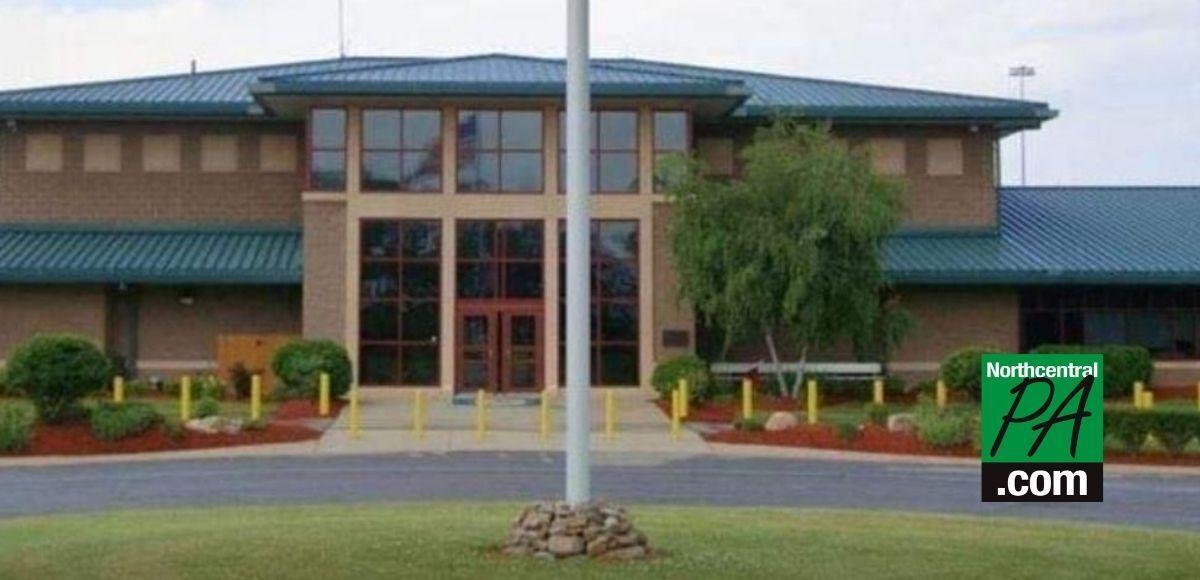 Exterior photo FCI-Allenwood medium with NCPA logo _ 2021