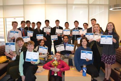 WAHS students at Model UN event