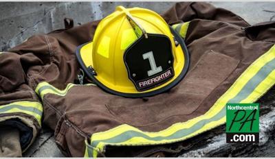 firefighter uniform stock pic