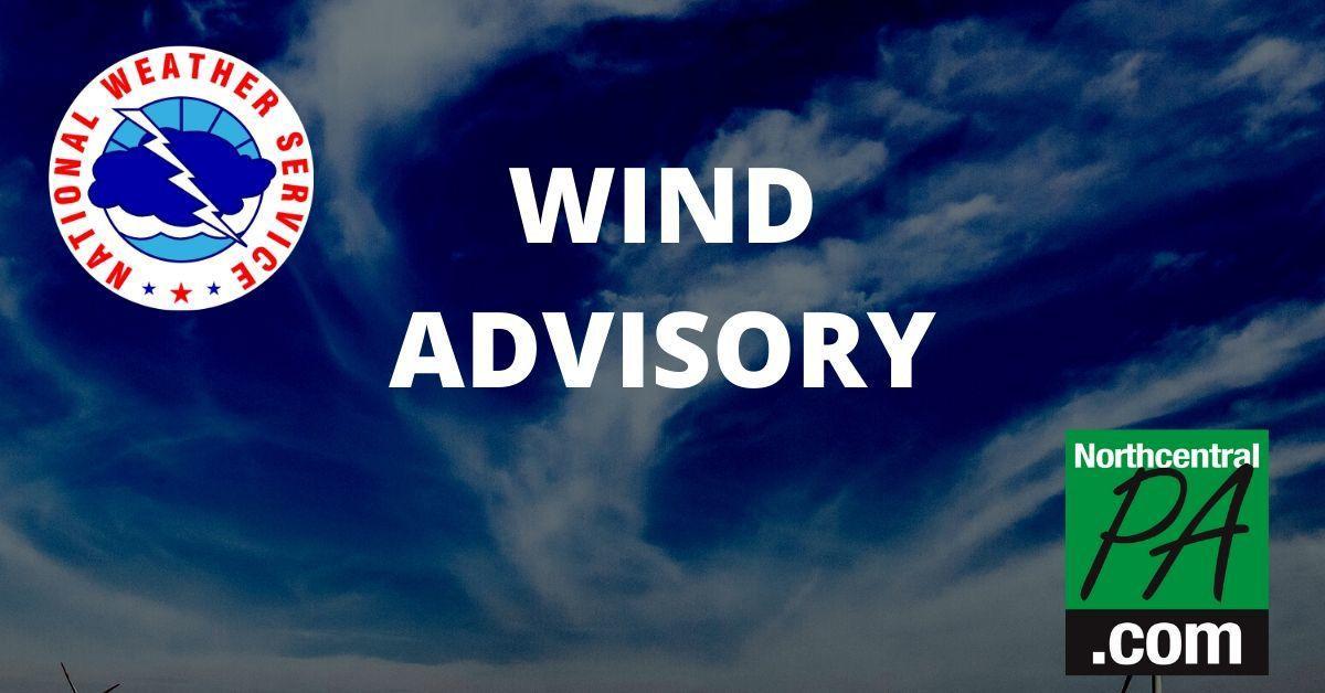 Wind Advisory - 2020