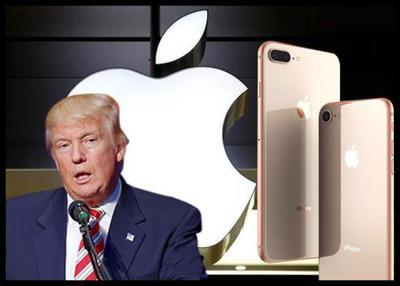 Trump Urges Apple To Help Unlock Phones Used By Killers