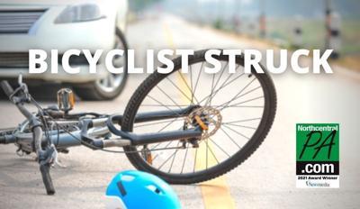 BICYCLIST STRUCK