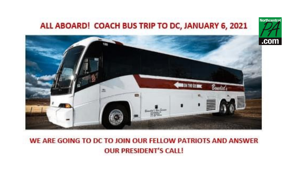 Busloads of local Trump supporters participated in D.C. protest | News |  northcentralpa.com
